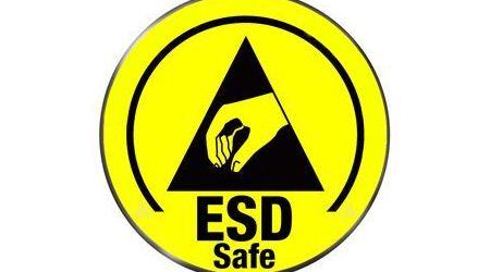 ESD safe sticker