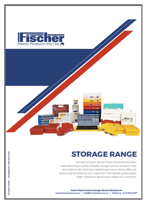 Fischer Catalogue cover