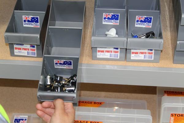 spare parts tray