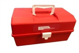 plastic medical storage box
