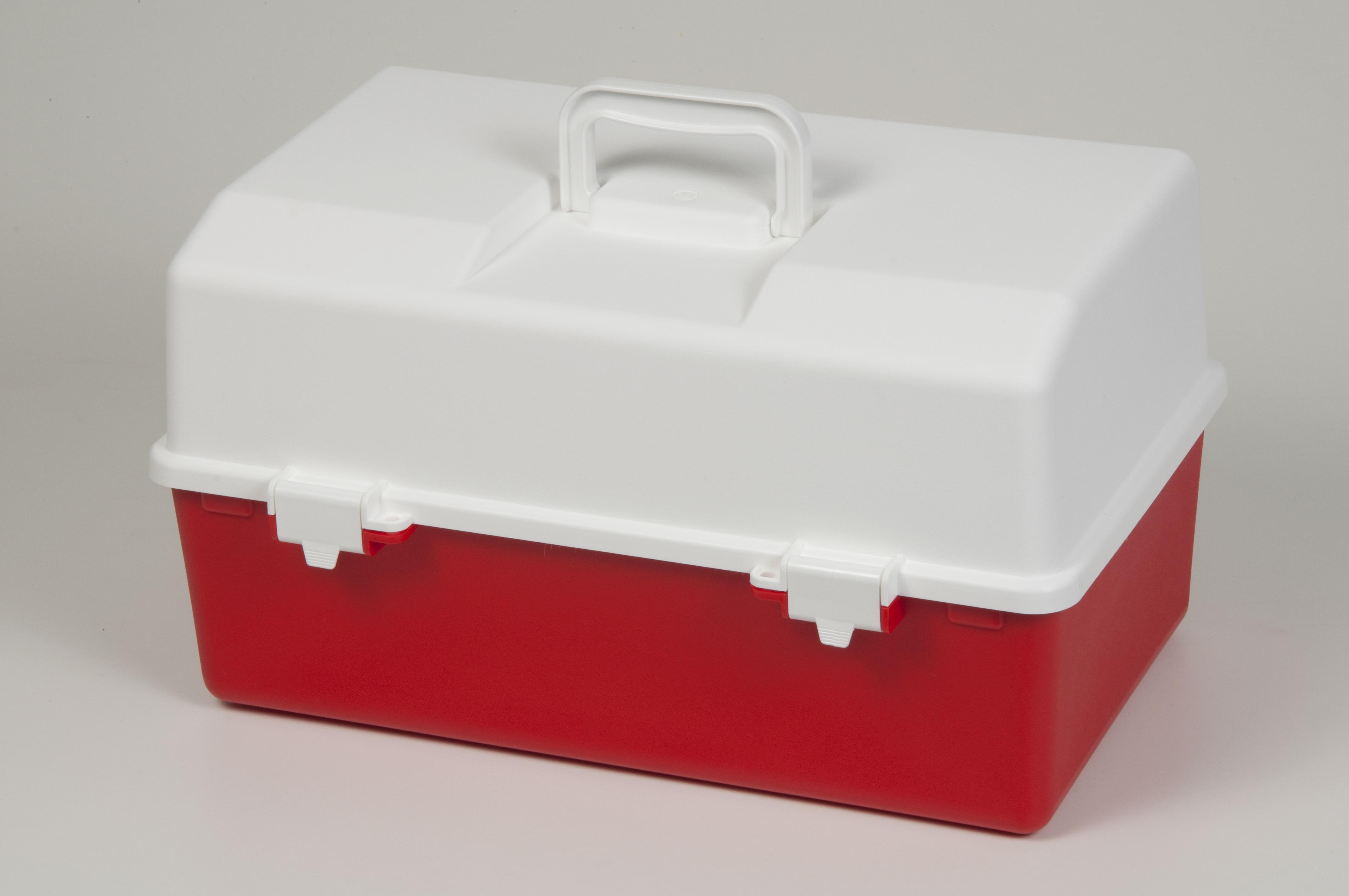 Plastic medical storage box